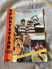 More details for 1983 sportsyear hull big three rugby league football special issue kr -fc-city