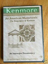 KENMORE AN AMERICAN MASTERWORK AN INTERACTIVE DOCUMENTARY DVD RESTORATION