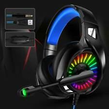 3.5mm Gaming Headset MIC & RGB  7.1 Stereo for PC Laptop PS4 Pro Xbox One S 360