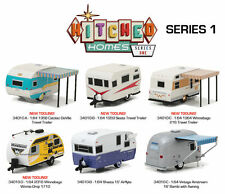 GREENLIGHT 1:64 HITCHED HOMES SERIES 1 ASSORTMENT SET Of 6 DIECAST CAR 34010