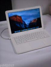 "Apple MacBook 13"" UNIBODY A1342 INTEL C2D 2.4GHZ 2GB 250GB EL CAPITAN 10.11 2010"