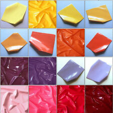 Solid Patterned Faux Leather Upholstery Craft Fabrics
