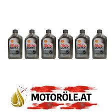 6x1 Liter Shell Helix Ultra Racing 10W-60 Motoröl, ACEA A3/B3/B4 - API SN/CF