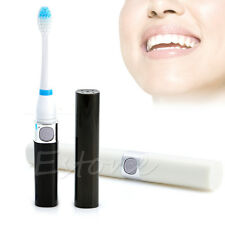 Sonic Electric Tooth Massager Clean Cleaner Toothbrush with 3 Brush Heads AAA