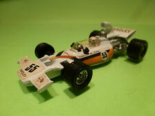 CORGI TOYS YARDLEY McLAREN FORD M19A - F1 No 55 - WHITE 1:36 - VERY GOOD