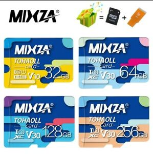 MicroSD Karte Speicherkarte für Smartphone Tablet Kamera Drohnen + Adapter + USB