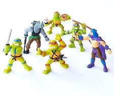 Collection Complete the 6 Teenage Mutant Ninja Turtles Action Figures 1988