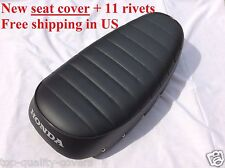 HONDA CT70 trail 70 1969-1971 High Quality New Seat Cover +11 rivets