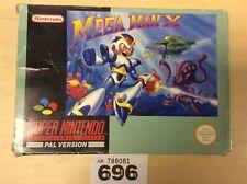 Super Nintendo Snes Mega Man X Pal Version