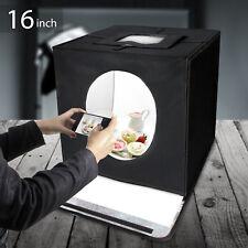 "Lusana Studio 16"" Photography Lighting Box Light Tent with White Background"