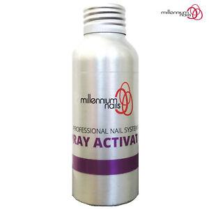 Millennium Nails 100ml Resin Activator Spray For Fibreglass & Silk False Nails