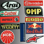 Kart Karting Sponsors , 11 Embroidered Overall Racing Suit Sport Patches