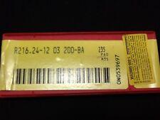 SANDVIK CARBIDE INSERTS R216.24 12 03 200 BA 235 P40 M35 Box of 10