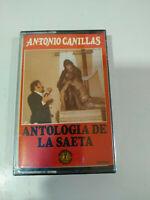 Antonio Canillas antologia de la Saeta - Cinta Tape Cassette Nueva
