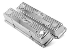 Holley 241-82 Valve Covers M/T Mickey Thompson Tall SBC Small Block Chevy 350