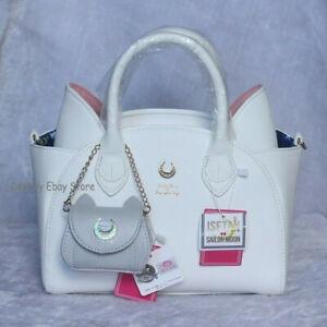 Sailor Moon Women Anime Samantha Vega Luna Handbag Leather Purse Shoulder Bag