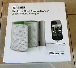 Withings Tensiometre Connecte BPM Iphone Ipad Ipod