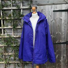 Ladies outdoor waterproof jacket in purple by Higear s14 walking hiking coat W