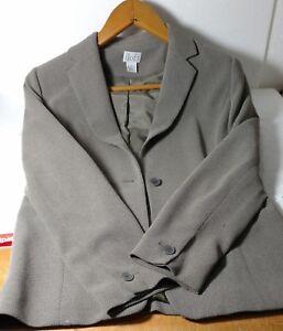 Ann Taylor Loft Beige/gray blazer Size 6 100% polyester lining 100% Acetate