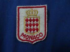 VINTAGE  MONACO   PATCH   Cloth  Patch Badge *