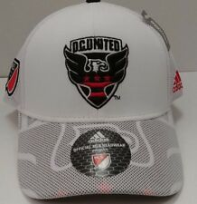 DC United MLS adidas Climalite Authentic Team Structured Adjustable Hat / Cap