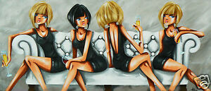 FUNKY ART LTD EDITION PRINT FROM PAINTING BY ANDY BAKER poster