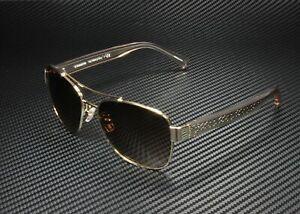 COACH HC7064 926513 Lt Gold Crys Lt Brown Gradient 56 mm Women's Sunglasses