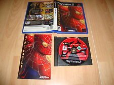 SPIDER-MAN SPIDERMAN 2 DE ACTIVISION PARA SONY PLAY STATION 2 PS2 USADO COMPLETO