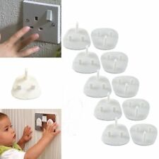 50x SAFETY SOCKET COVERS Electrical Plug Protector Child Baby Mains Baby Switch