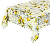 Tovaglia antimacchia cerata cucina maioliche limoni copri tavolo casa più misure
