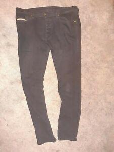 Diesel Jeans Tepphar Slim Carrot Schwarz Gr.32/32