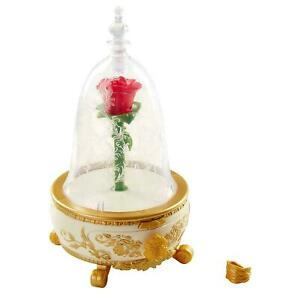 Beauty and the Beast Rose Jewelry Box Enchanted Light Up Disney UK Seller