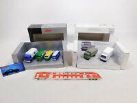 CN127-1# 2x Schuco H0/1:87 Set: 45 258 3700 MB/VW + 45 225 4100 MB, NEUW+OVP