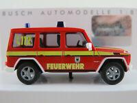 """Busch 51417 Mercedes-Benz G-Klasse (2002) """"Feuerwehr Dortmund"""" 1:87/H0 NEU/OVP"""