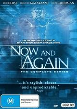 Now and Again (DVD, 2016, 5-Disc Set) [BRAND NEW]