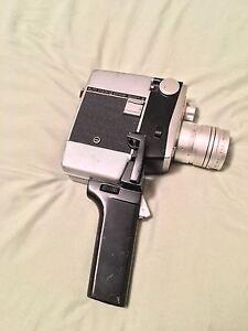Yashica Auto Loading Power Zoom 8 Vintage Camera