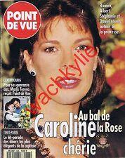 Point de vue 2488 03/04/1996 Caroline Monaco Bal de la Rose Palais Forbes Tanger