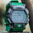 CASIO G-SHOCK DIGITAL MENS WATCH GD-400-3 FREE EXPRESS GREEN / GREY GD-400-3DR