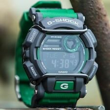 CASIO G-SHOCK DIGITAL MENS WATCH GD-400-3 FREE EXPRESS GREEN / GREY GD-400-3DR