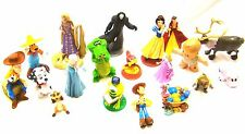 Disney Cake Toppers Figurines Mixed Lot (22) TWENTY TWO Toy Story Frozen Club