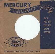 "Company Sleeve 45 Mercury - Blue & Brown ""Celebrity Series"""