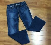 Silver Jeans Women's Tuesday Boot Cut Tag 30/33  Actual Measure 33/32