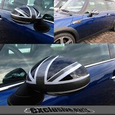 MK1 BMW MINI Cooper//S//ONE R50 R52 R53 Noir Union Jack Miroir Cap Couvre