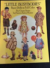 Vintage Little Busybodies Paper Doll Book