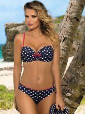 Schicker Push-up Balkonett Bikini-Set Self Gr.36-44 Cups B-E (Model 730 GR5) Neu