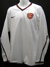 Nike Arsenal Club de Fútbol 2007 2008 Player Tema LARGA / Manga Camisa No