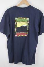 The North Face Mens Blue Kilimanjaro Graphic T-Shirt Sz XL