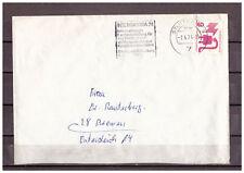 BRD, MiNr. 699 A Stuttgart nach Bremen 07.04.1974 WSt