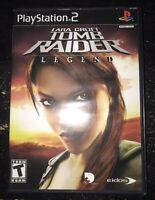 Lara Croft: Tomb Raider -- Legend (Sony PlayStation 2, 2006)