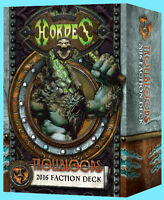 HORDES 2016 TROLLBLOODS FACTION DECK NEW Sealed War Game PIP 91110